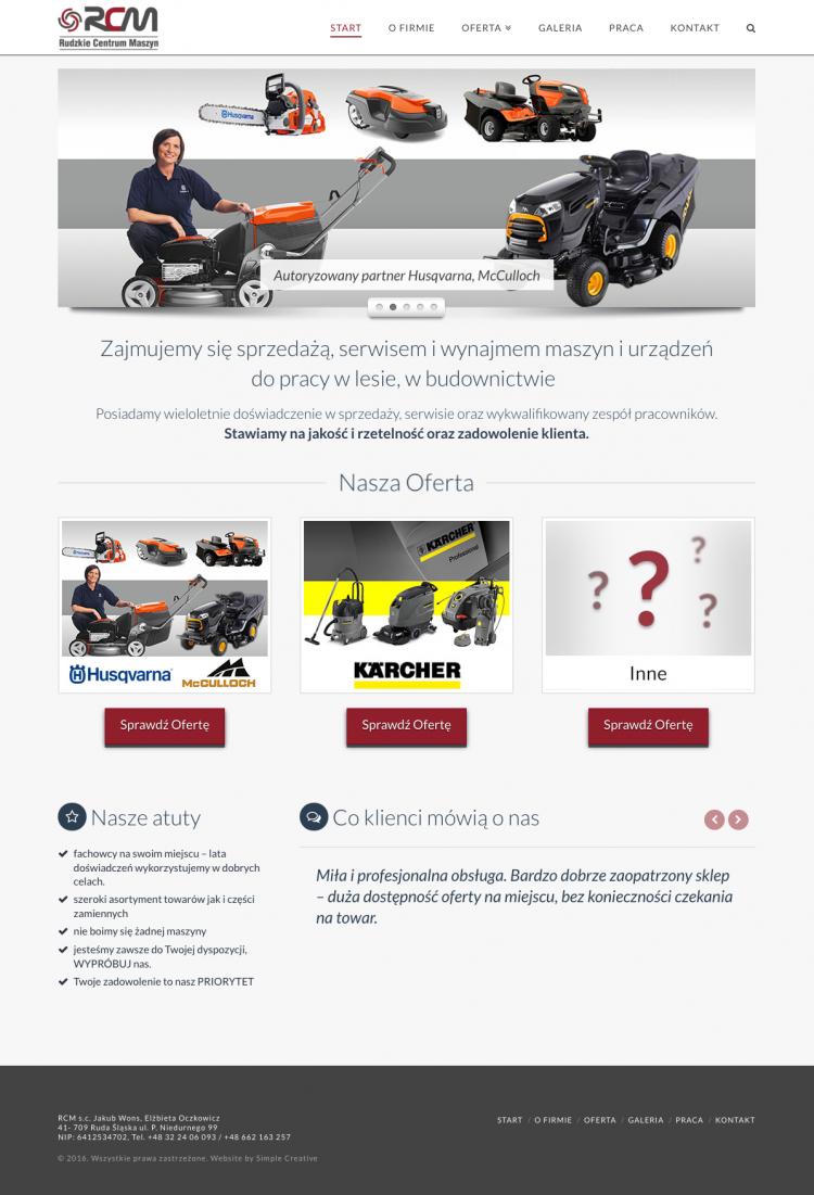 RCM – Rudzkie Centrum Maszyn