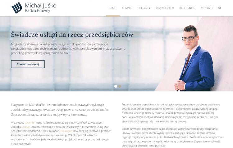 Michał Juśko Radca Prawny